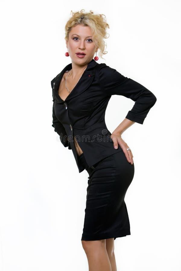 Vestito sexy di affari fotografia stock libera da diritti