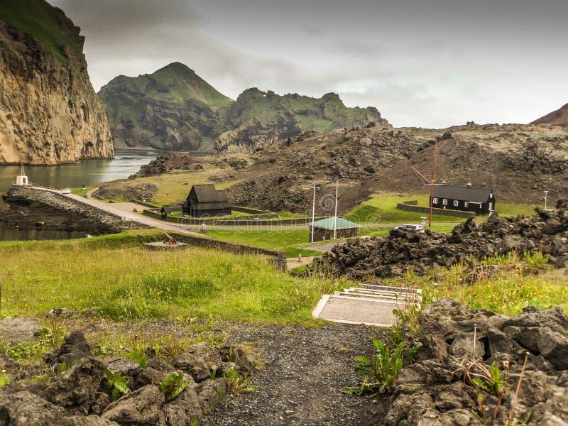 Vestmann Islands Iceland stock photo