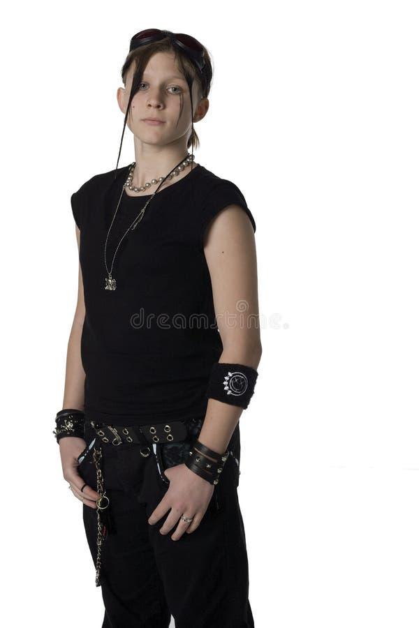 Vestuário de Goth fotos de stock
