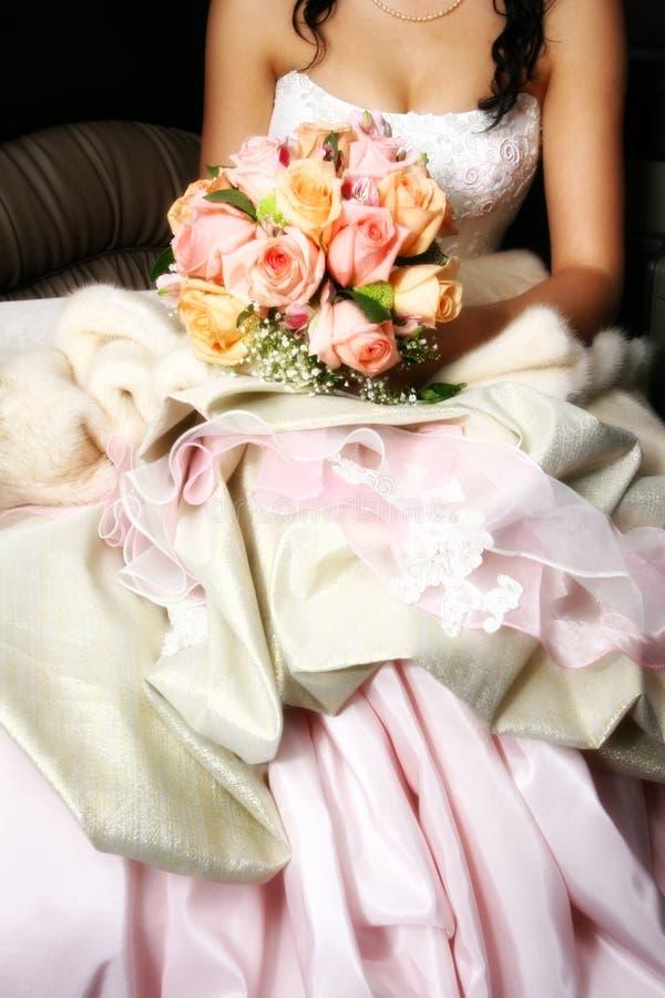 Vestuário do casamento fotografia de stock royalty free