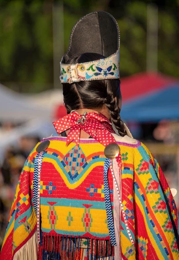 Vestuário do nativo americano foto de stock royalty free