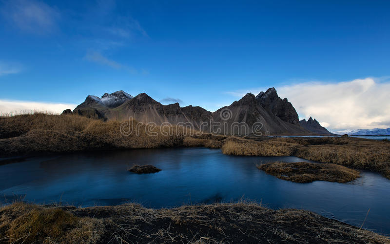 Vesturhorn Montain, Iceland fotografia royalty free