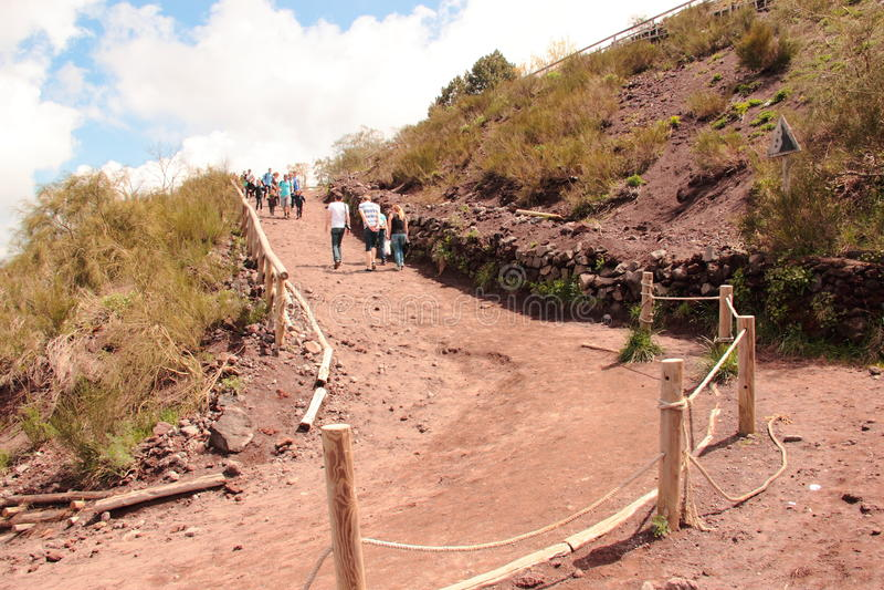 Vesuvio fotos de archivo
