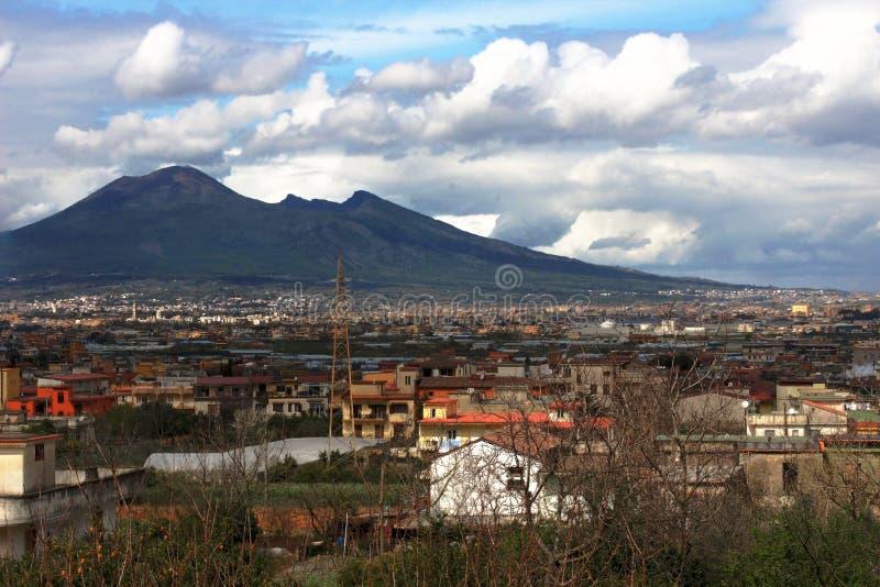 Vesuvio royalty-vrije stock afbeeldingen