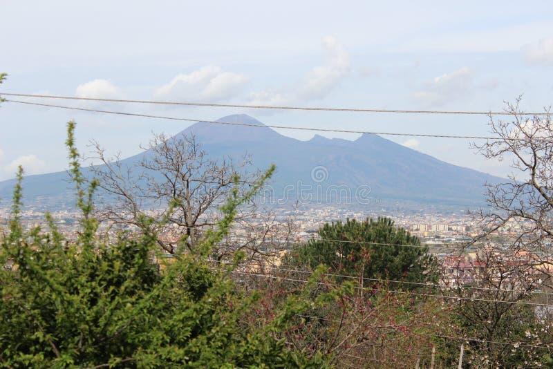 Vesuvio stock photography