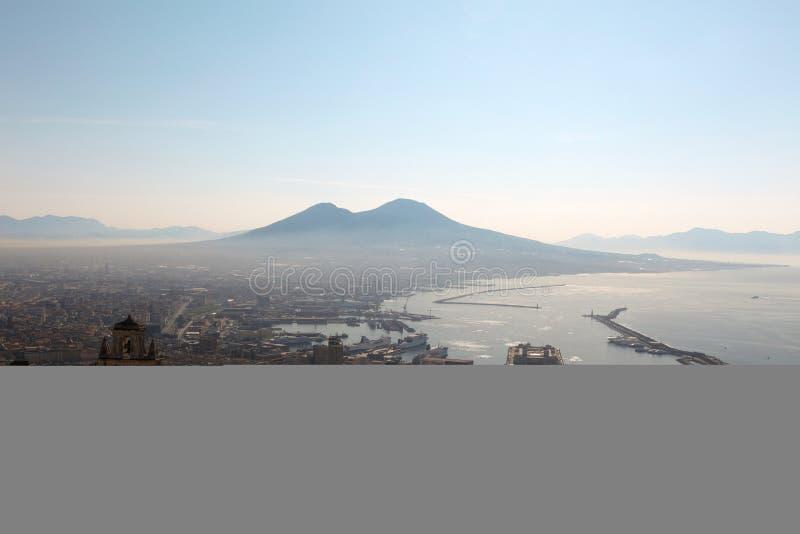 Vesuvio Vulkan stockfotos
