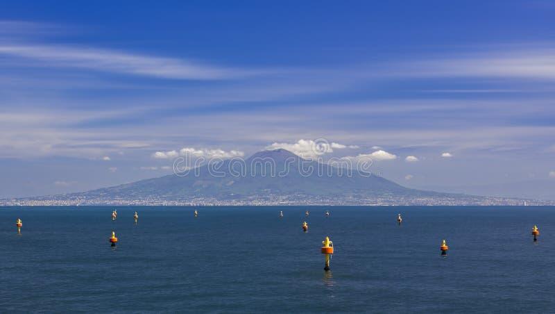 Vesuvius, looking from Sorrento