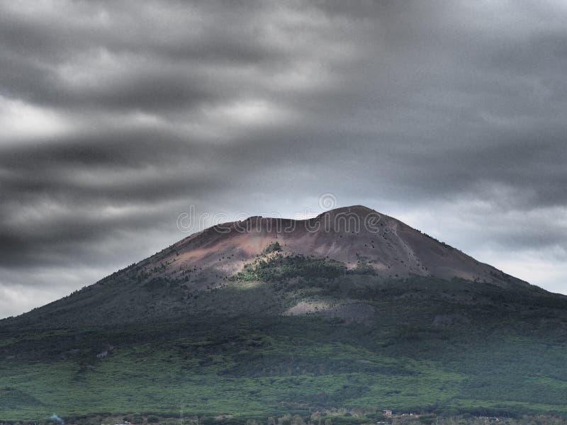 Vesuvius volcano stock photography