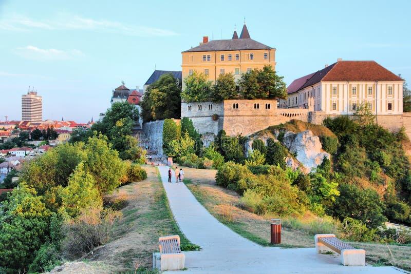 Veszprem,匈牙利 免版税图库摄影