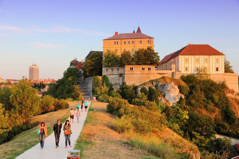 Veszprem, Hongarije royalty-vrije stock foto's
