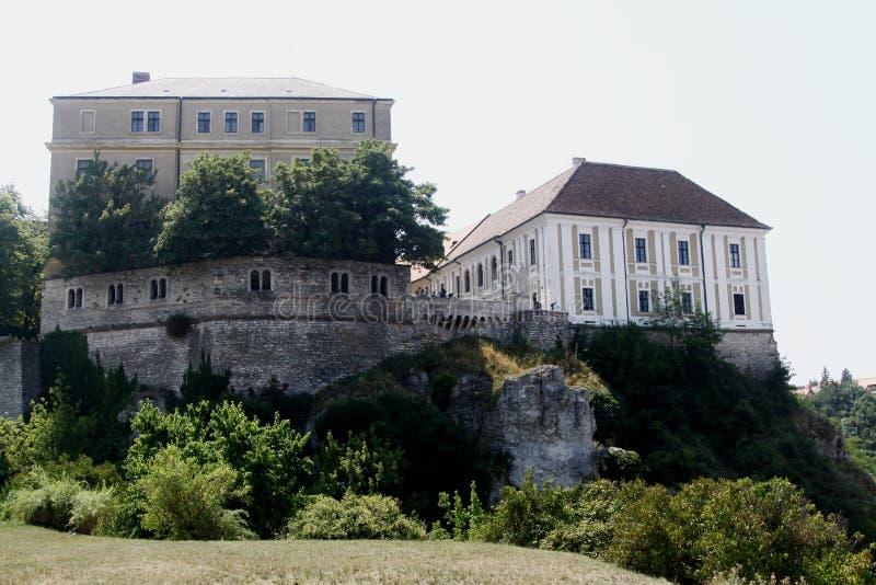 Veszprem-Schloss stockbild