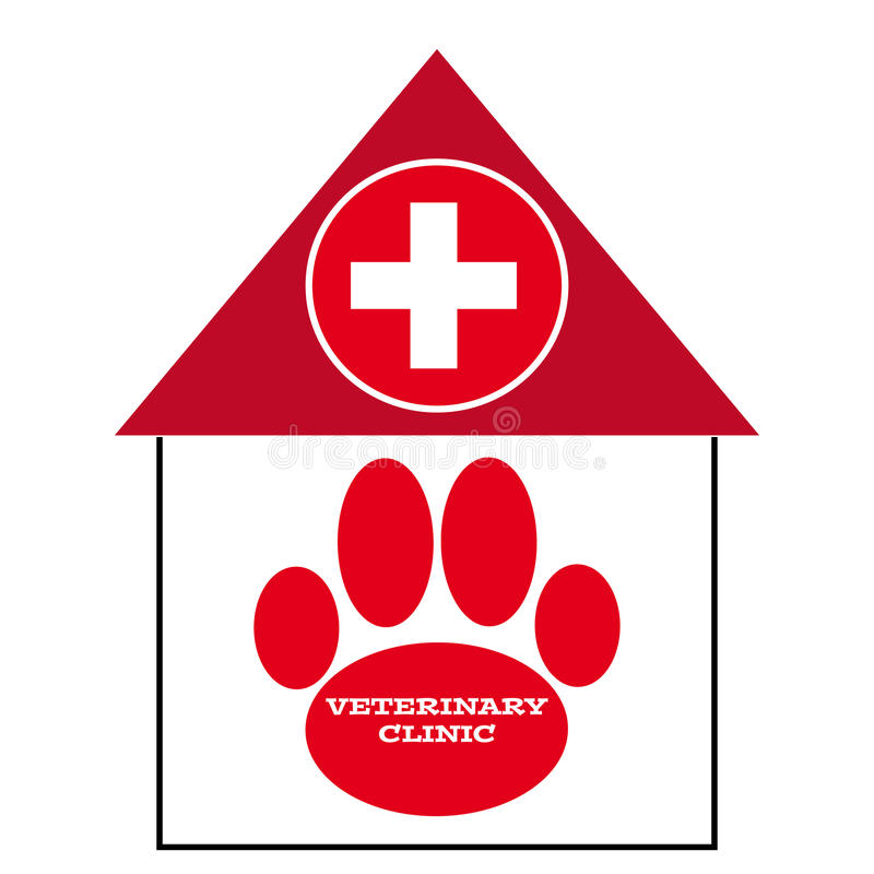 Download Vet Symbol On White Background Stock Vector - Image: 83721423