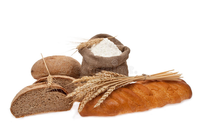 vete för brödmjölkorn royaltyfri fotografi