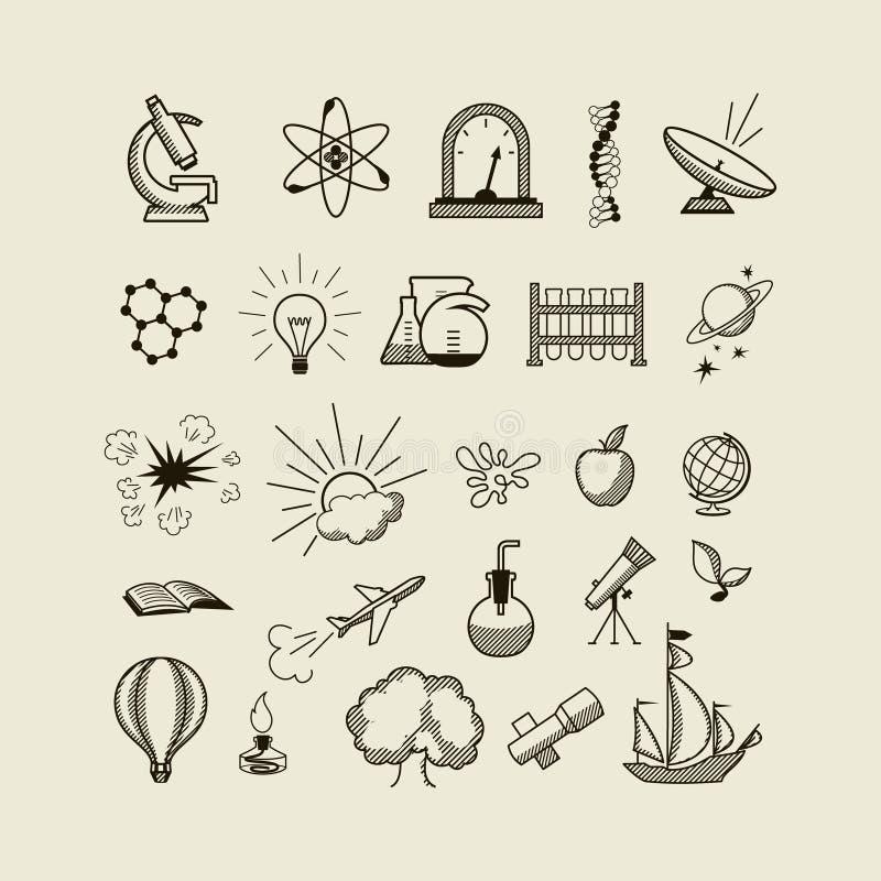 Vetenskap stock illustrationer