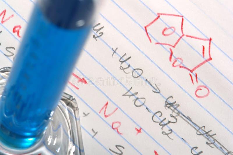 vetenskap för forskning för kemiformellaboratorium royaltyfri fotografi