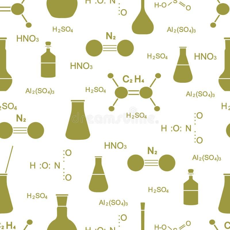 vetenskaplig modell Kemi biologi, medicin stock illustrationer