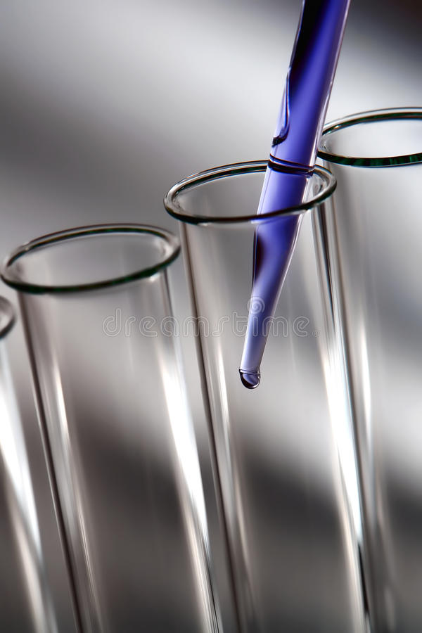 vetenskaplig vetenskap för experimentlaboratoriumforskning royaltyfria bilder