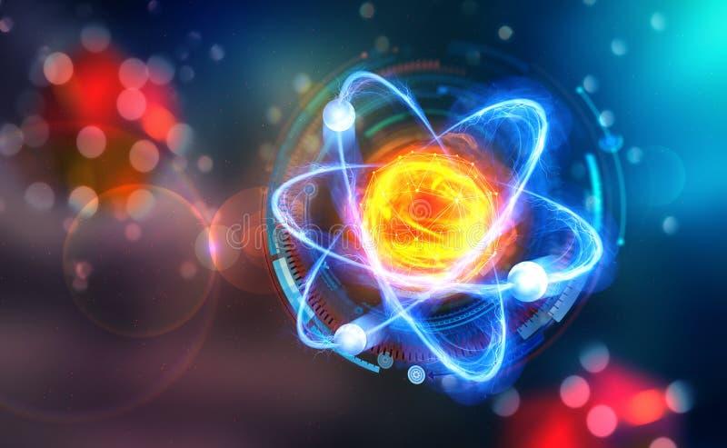 vetenskapligt begrepp Genious idé Genombrottforskning vektor illustrationer