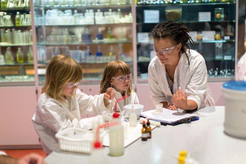 Vetenskapsgrupp royaltyfri bild