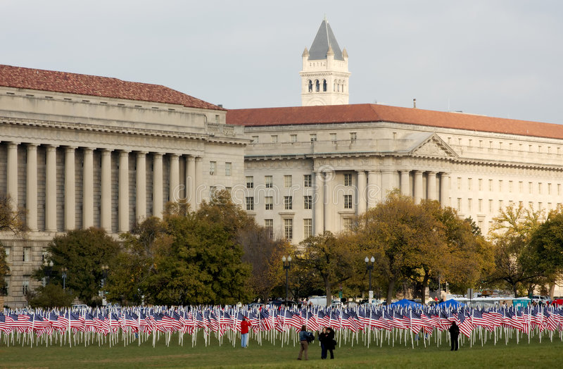 Download Veteran's Day And Flags Stock Images - Image: 3701984