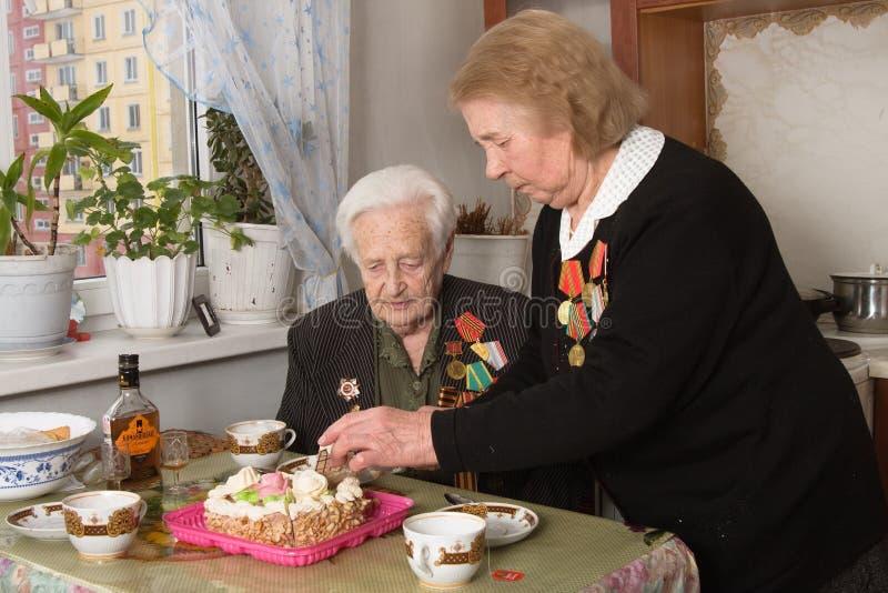 Veteranen stock fotografie