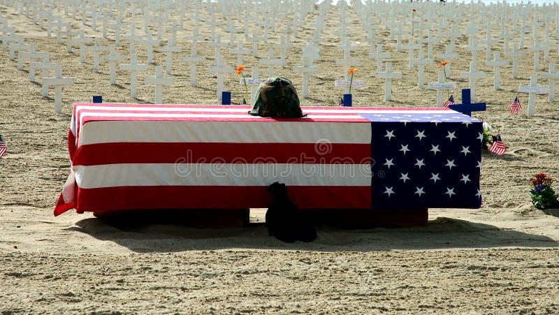 Download Veteranen-Tag 1 stockbild. Bild von erinnerungs, sarg, sorge - 40929