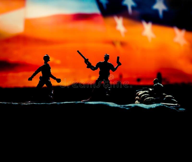 Veteranenhintergrund lizenzfreies stockfoto