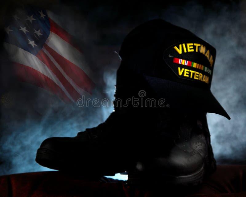 Veterano del Vietnam fotografia stock libera da diritti