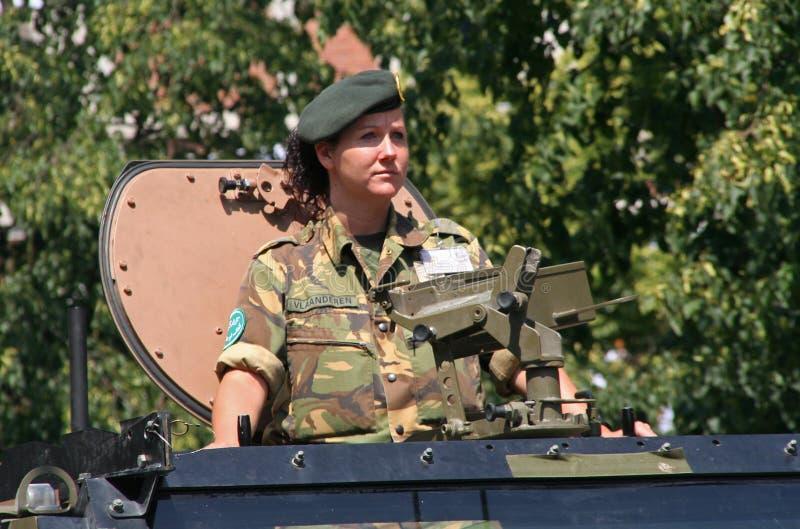 Veterano femenino imagenes de archivo