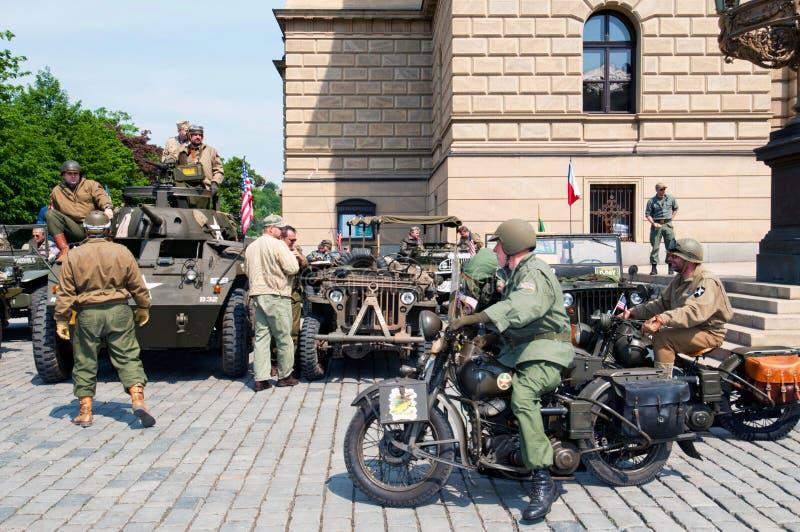 Veteranos americanos foto de stock royalty free