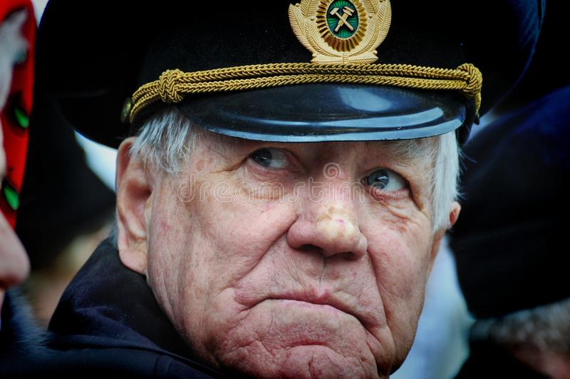 Veteranos da segunda guerra mundial imagem de stock royalty free
