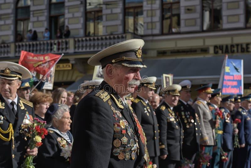 Veteranos das guerras foto de stock
