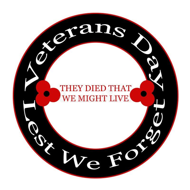 Download Veterans day stock illustration. Illustration of tribute - 16881004