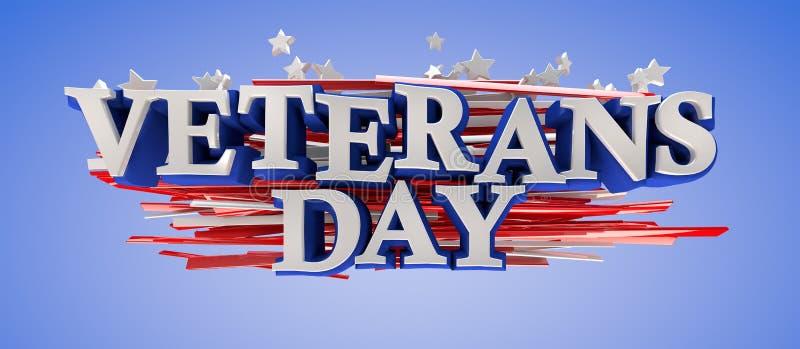 Veterans Day royalty free illustration