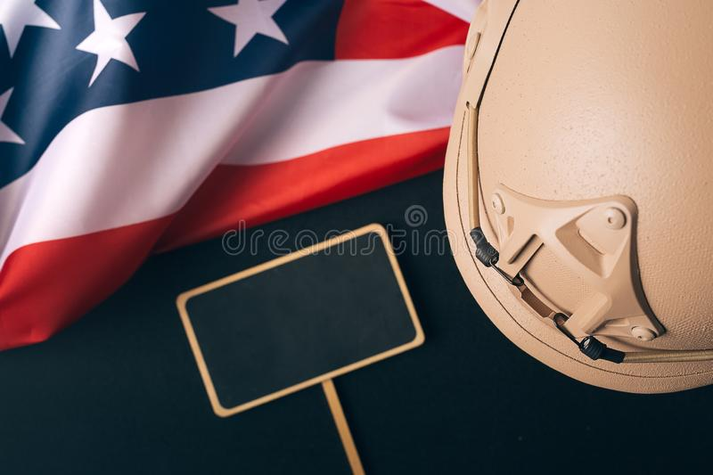 Veterans day, United States of America armed forces, remembrance. stock image