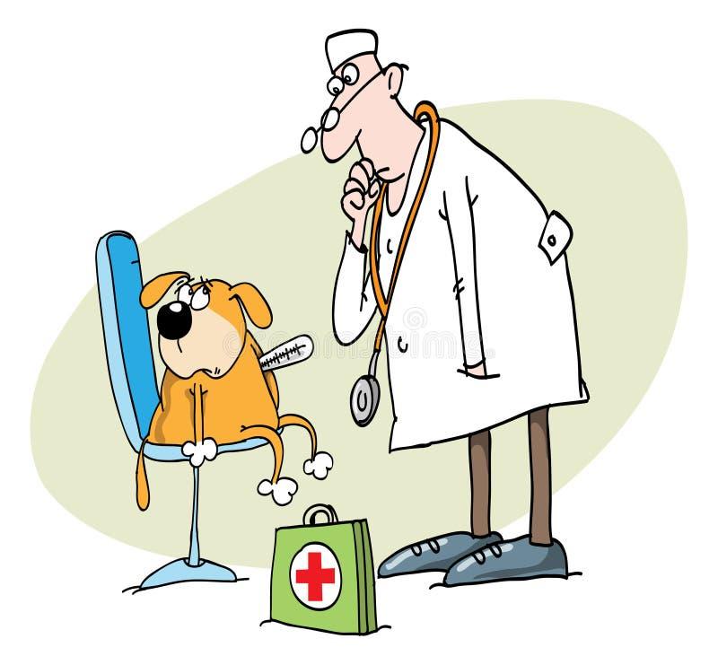 Veterinär stock abbildung