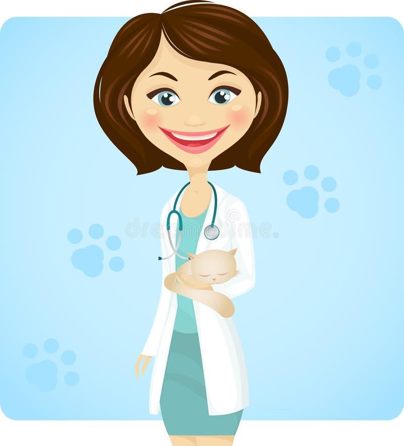 veterinär vektor illustrationer
