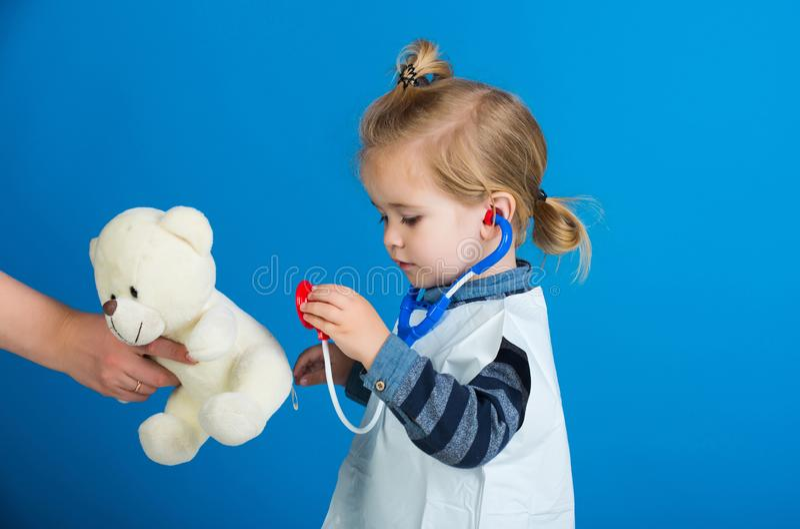Veterinair kliniekspel royalty-vrije stock fotografie