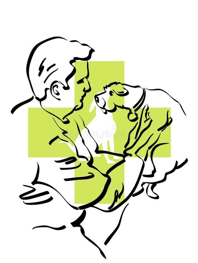 Veterinarian stock illustration