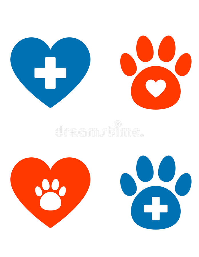 Free Veterinarian Icons Set Royalty Free Stock Images - 49702049