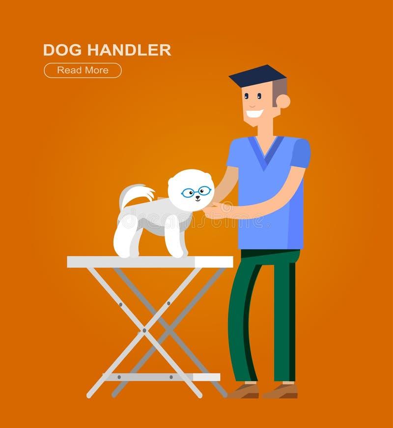 veterinario de alta calidad del diseño de carácter libre illustration