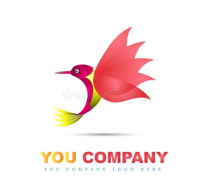 Vetor à moda do pássaro ilustração royalty free