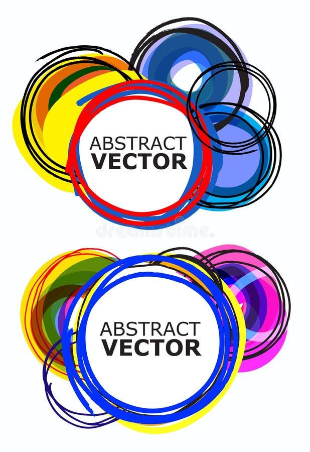 Vetor abstrato ilustração stock