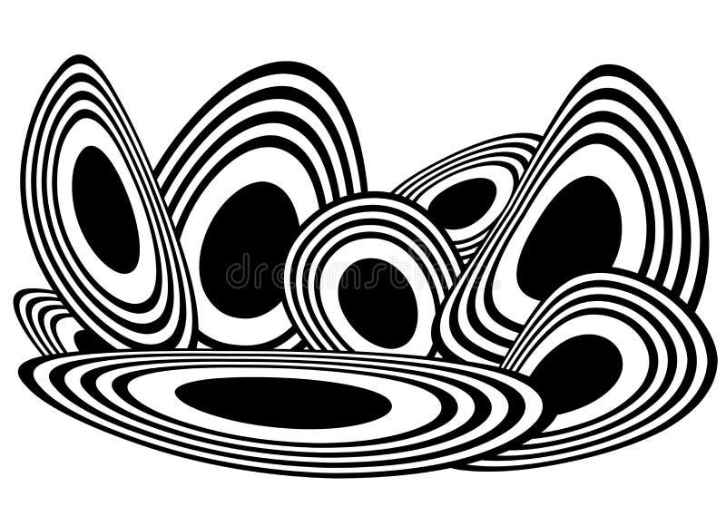 Vetor abstrato do círculo ilustração do vetor