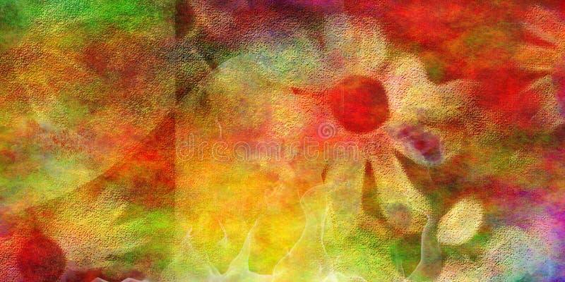 Vetor abstrato floral ilustração do vetor