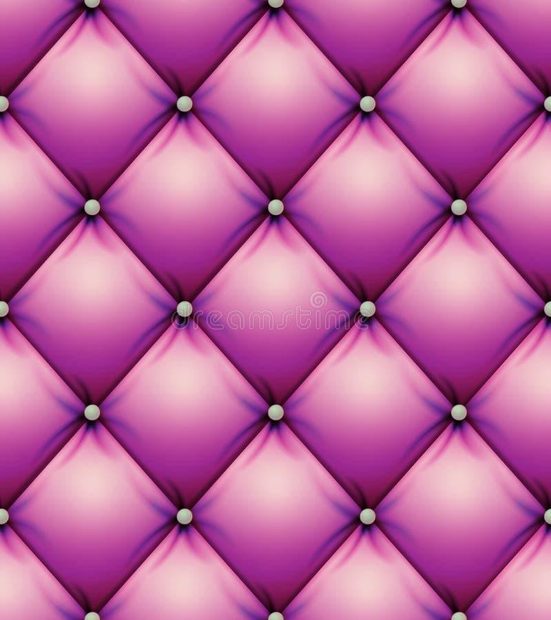 Vetor acolchoado do teste padrão Do sumário decorativo do fundo dos quadrados textura macia Ilustração do vetor ilustração royalty free
