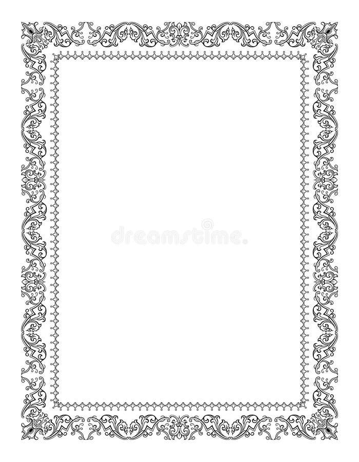 Vetor a céu aberto do frame ilustração stock