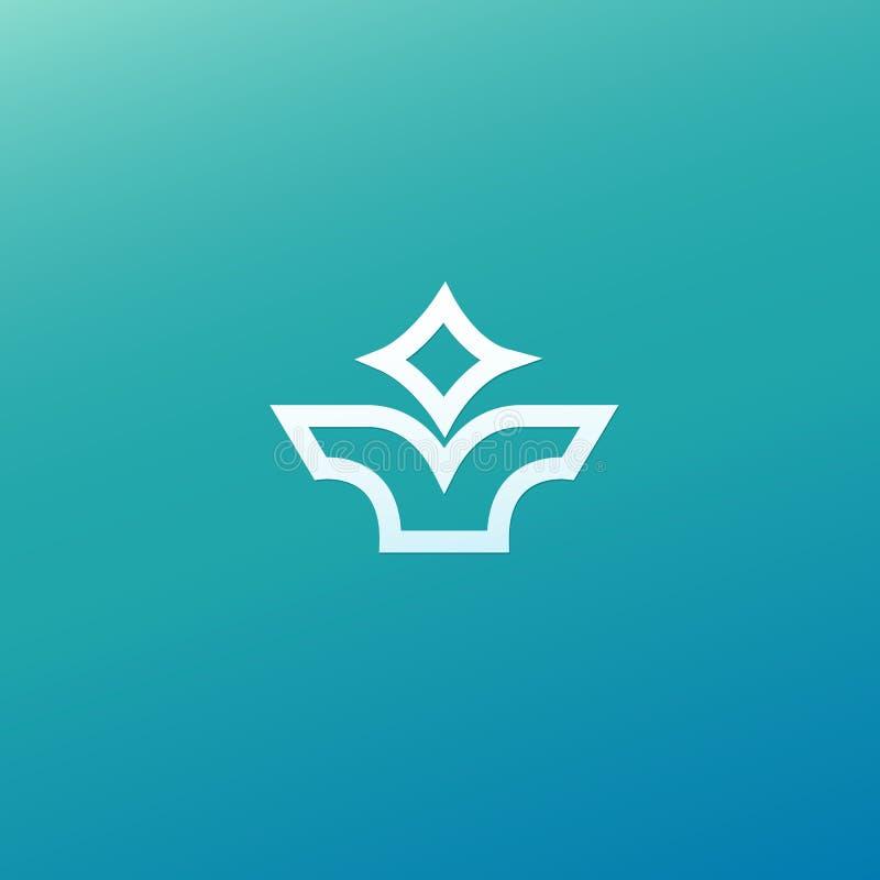Vetor celta do nó Símbolo decorativo da tatuagem Emblema retro do círculo luxuoso Logotipo escocês tradicional do vetor Linha sim ilustração do vetor
