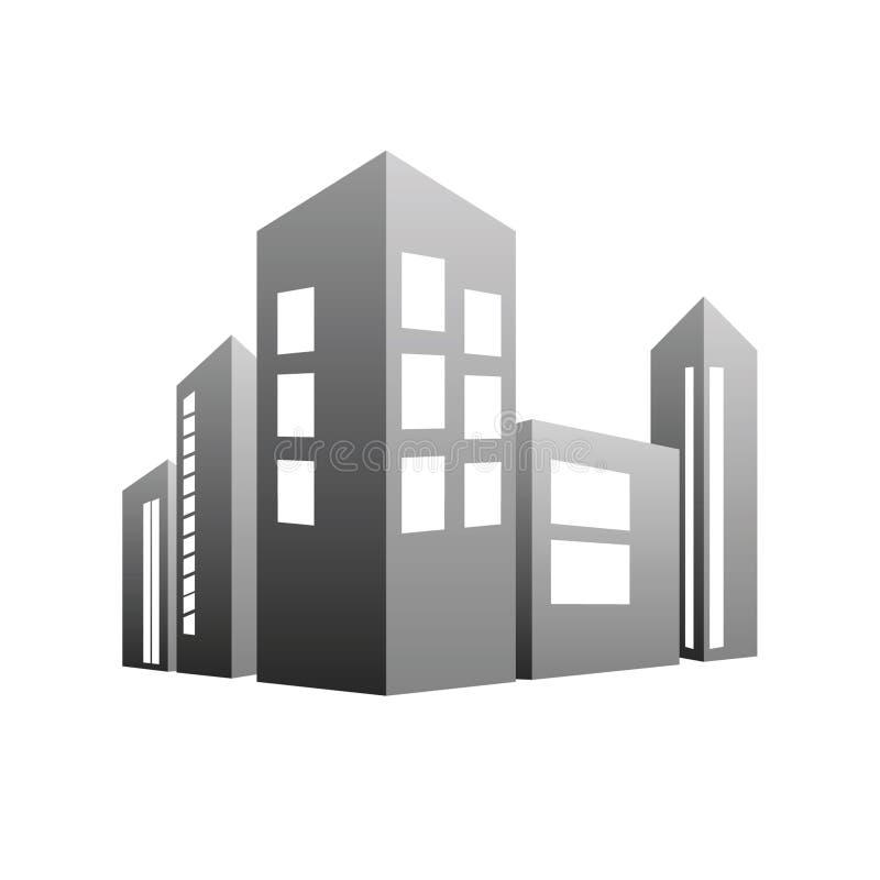 Vetor cinzento de construção ilustração do vetor