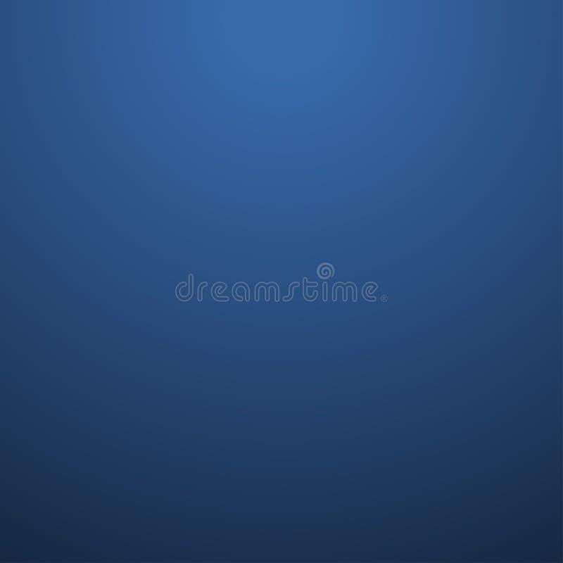 Vetor claro superior do fundo liso abstrato azul criativo ilustração royalty free